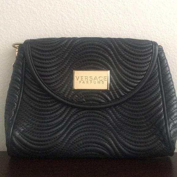 Versace Bags   Parfums Clutch Bag   Poshmark 9ccefee3df